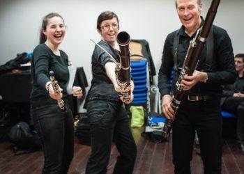Les hautbois et bassons