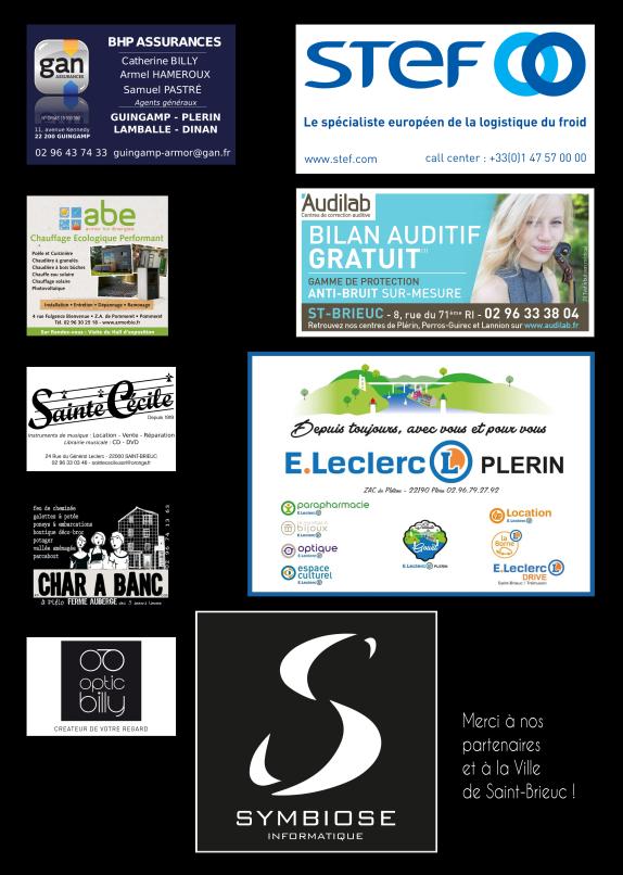LECLERC PLERIN, SYMBIOSE, STEF, AUDILAB, BHP Assurances, Armor Bio Énergie, Sainte-Cécile, Char à banc, Optic Billy